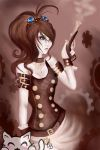 Steampunk Girl by Emily-Draws-Things