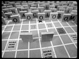 Scrabble Racism by PixyPainter