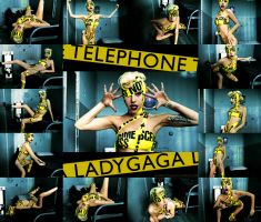 Lady Gaga's Telephone - 4 by JuanitoTheVampire