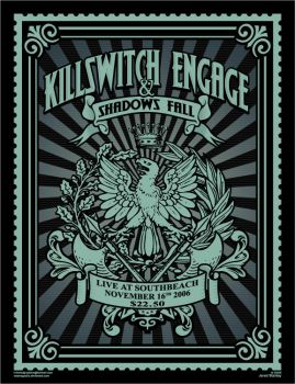 killswitch engage poster by Satansgoalie