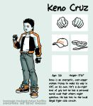 Secrets Of The Ooze: Keno Cruz by mooncalfe