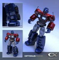 Optimus Prime Revisited v3 by shadowfork