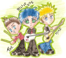THE GREENDAY by ElvenFire2