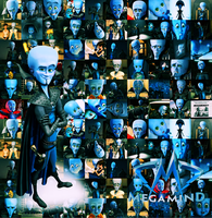 Megamind Faces by AliceingJabberwocky