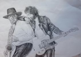 Springsteen by claremcgeever