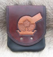 Leather Alchemical Belt Pouch by SonsOfPlunderLeather