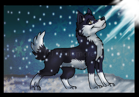 comission pour wolfinrahalify by Thaismorel