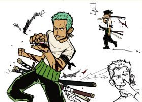 Zoro Rules by pirateneko