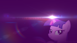 Twilight Sparkle - Illuminate WP by nsaiuvqart