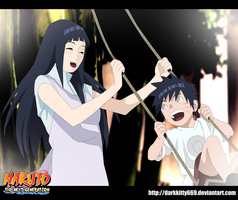 Naruto:The Next Generation- Hinata And Minato by Darkkitty669
