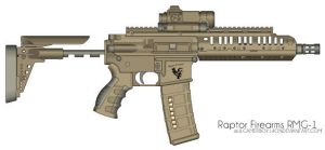 Raptor Firearms RMG-1 Sub-Machine Gun by lilgamerboy14