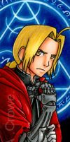 Edward Elric Bookmark by psycrowe
