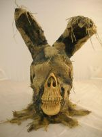 Feaster Burlap Rabbit Mask by JPattonFX
