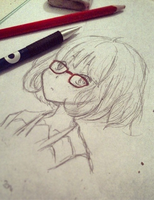 Fast Sketch - Mirai by momovvip