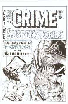 Crime Suspense Stories cover recreation by ElfSong-Mat