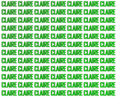 CLAIRE WATERMARK PNG by YulTaeng-daphneee