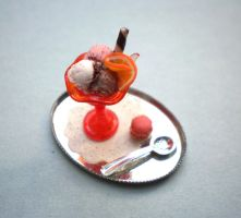 Miniature Ice Cream by vesssper