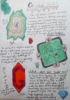 The Crystal Shield  ~ Journal Page 6 by hananas59