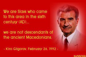 Kiro Gligorov Quote FYROM by Hellenicfighter