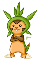 Chespin by jin87