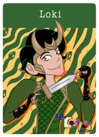 Clue Card Loki by Swiftstart