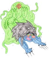 Amru Vore: Engulfed By A Slime Creature Part 1 by KnightRayjack