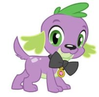 Spike the ...puppy? by Fiolee4ever01