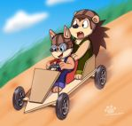 Wuffle Kart by Coshi-Dragonite