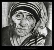 Mother Teresa by panky25