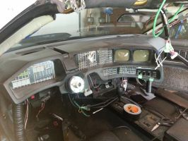 First Test Fitting of the Knight Rider 2 TV Dash by sicklilmonky