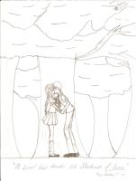 A Sweet Kis Under the Trees by HikariTwinkle