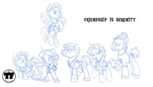 Friendship is Serenity by nanook123