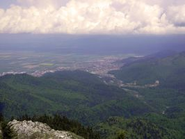 Brasov seen from above by ranger2011