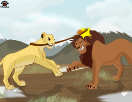 Safi and Mohatu by Mayshha