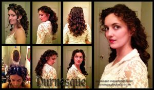 How to: Christine Daae Hair by Durnesque