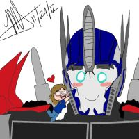 Request - Fangirl and Prime XD by MNS-Prime-21
