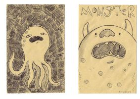 DuO Monsters by TeapotMysteries