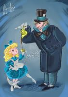 Mad Hatter and Baby Doll by Iluvendure