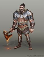 Barbarian Concept by z0mbiePirat3