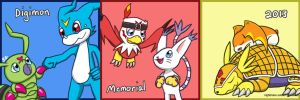 Digimon Memorial 2013 by nightmare-soldier