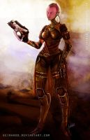 Commission: Tali by Geirahod