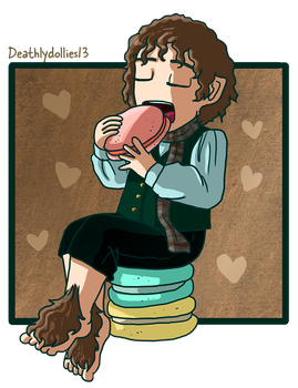 Hobbits and Desserts 5 by Deathlydollies13
