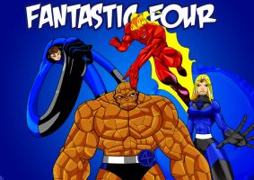 Fantastic Four Pinup part 2 by RobTorres