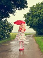 Summer Rain by harlyharlekin