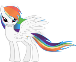 Rainbow Dash hollow show off pose by FeralHamster