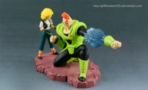 ANDROID 16 AND 18 by jeffbedash325