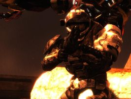 Halo Reach: On The Loose by purpledragon104