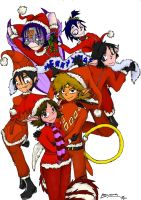 All char - Merry Xmas 2008 by byona