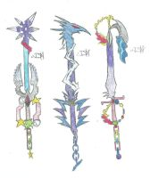 Keyblades by darkshadow278
