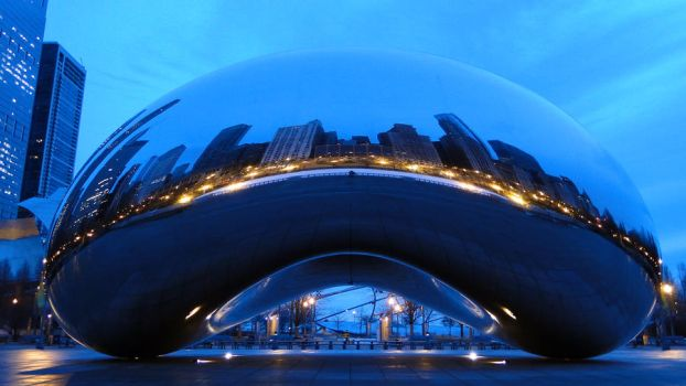 Cloud Gate, Chicago. (4) by aliohali